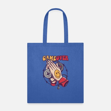Game Over Smiley Game Over - Tote Bag