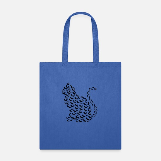 Cat Bags & Backpacks - many cats, cat, cat fan, cat lover - Tote Bag royal blue