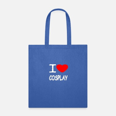 Japanimation I LOVE COSPLAY - Tote Bag