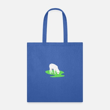 Meadow Sheep in the meadow - Tote Bag