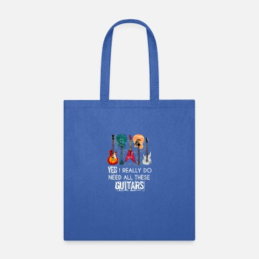 Bluegrass Funny Guitarist Musician Musical Instrument - Tote Bag