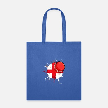 Open England English Cricket Flag Fans Supporter - Tote Bag