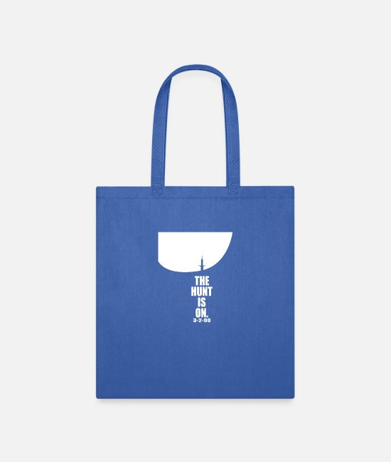 Art Bags & Backpacks - The HUNT Is On Tee Hunting - Tote Bag royal blue