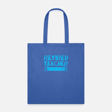 Child Retired Teacher Every Child Left Behind - Tote Bag