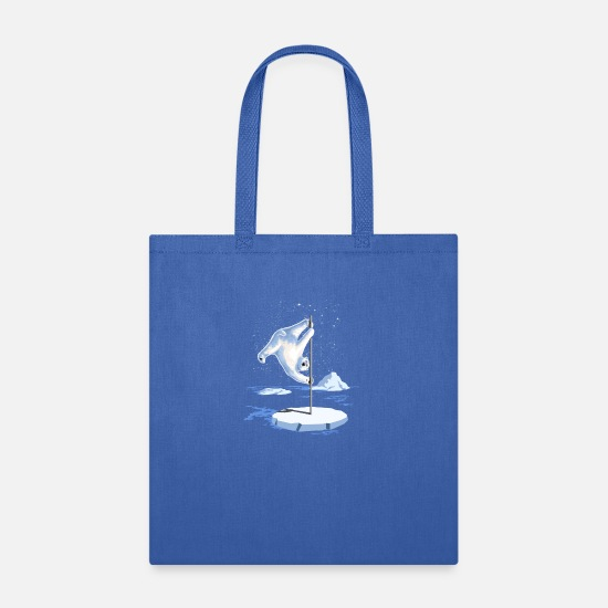Dancer Bags & Backpacks - North Pole Dancer - Tote Bag royal blue