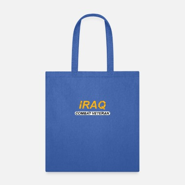 Army Special Forces Iraq Combat Veteran - Tote Bag