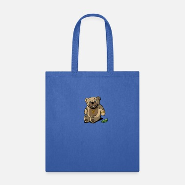 Money Teddy Bear Rick Gold Money - Tote Bag