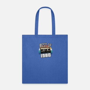 Cassette 40th birthday Gift Best of Vintage 1980 Retro - Tote Bag