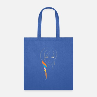 Beautiful Beautiful face with simple technique - Tote Bag