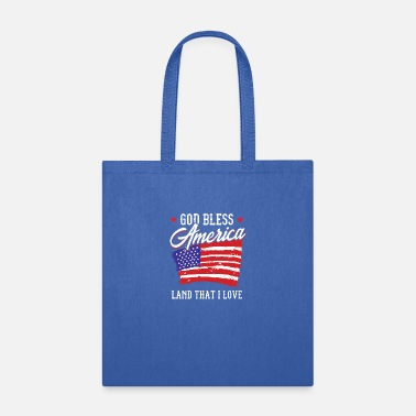 Sam God Bless America Land I Love Patriot Gift Idea - Tote Bag