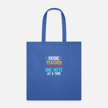 Aspire Music Teacher Touch Hearts - Tote Bag