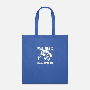 Eagle Humor Birds Design Quote This Is Hawkward - Tote Bag