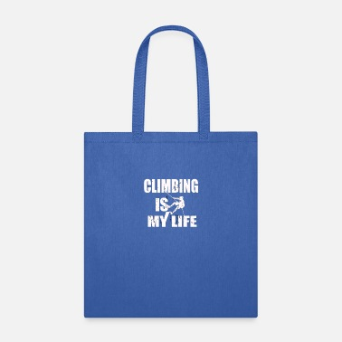Extreme CLIMBING Extreme Sport Of Climbing - Tote Bag