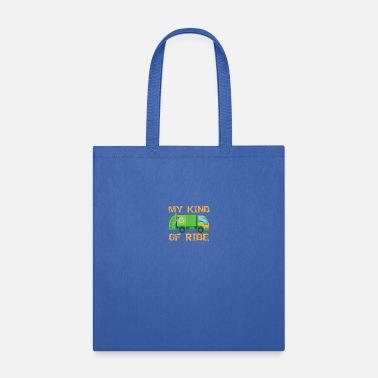 Reduce Garbage Ride Truck Trash Can Collector I Gift Idea - Tote Bag