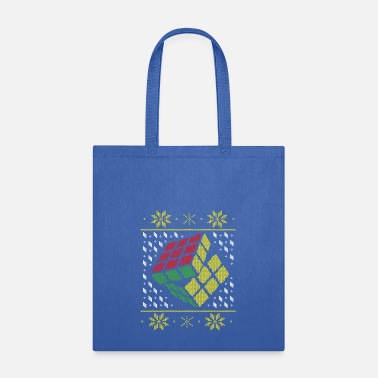 Christmas Rubik's Cube Ugly Christmas - Tote Bag