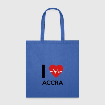 I Love Accra - Tote Bag