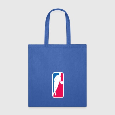 Bill Russell As The NBA Logo - Tote Bag