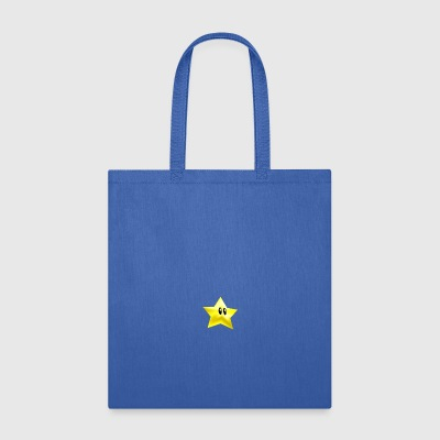 star from super mario brothers - Tote Bag
