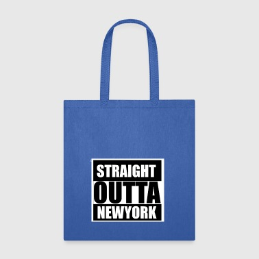 straight outta newyork - Tote Bag