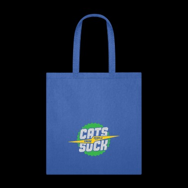 Cat cause people suck gift idea green - Tote Bag