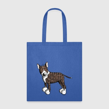 Cute Bull Terrier - Tote Bag