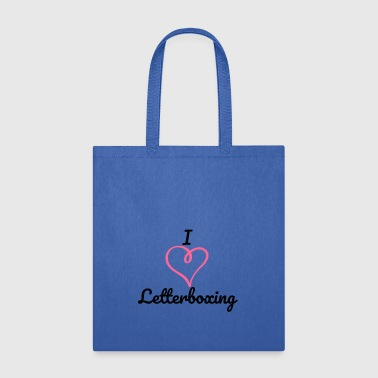 I Love Letterboxing - Tote Bag