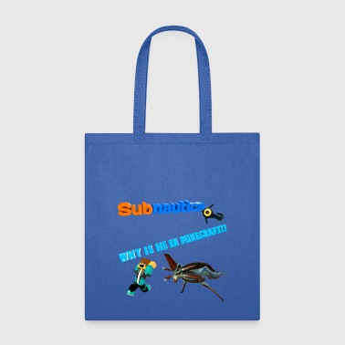 Subnutica In Wrong Game - Tote Bag
