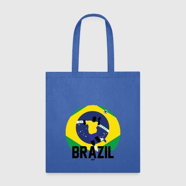 Brazil Futbol Soccer Cup Clothing Apparel Shirts - Tote Bag