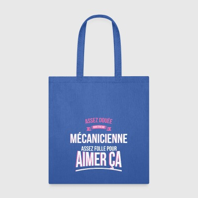 Mechanic gifted mad woman gift - Tote Bag