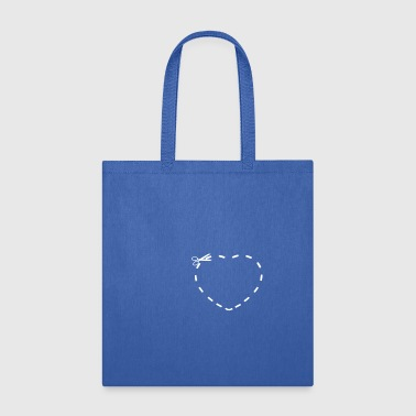 Cut the Hearth - Tote Bag