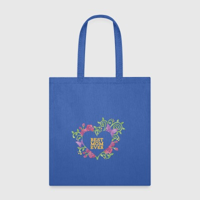 Best Mom Ever TMother's Day Pretty Pink Flower - Tote Bag