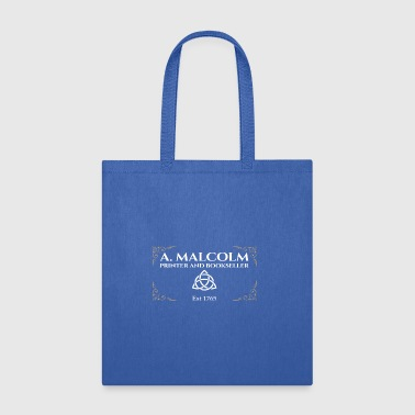 A Malcolm Printer and Bookseller Gift Tee - Tote Bag