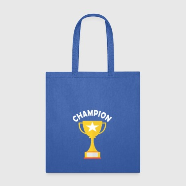 Champ Champion Winner Trhophy - Tote Bag