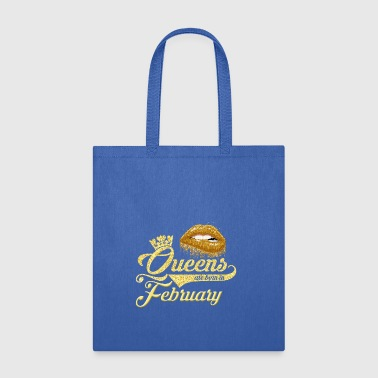 Queens Birthday February Gift T-shirt - Tote Bag