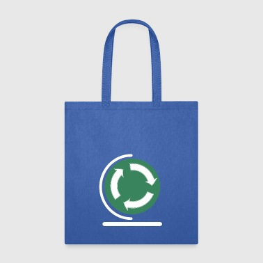 Save your planet! recycle sign - Tote Bag