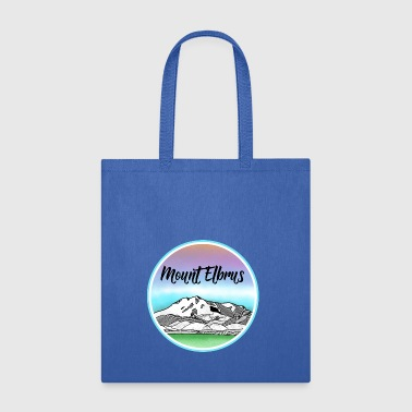 Mount Elbrus Mountain - Tote Bag