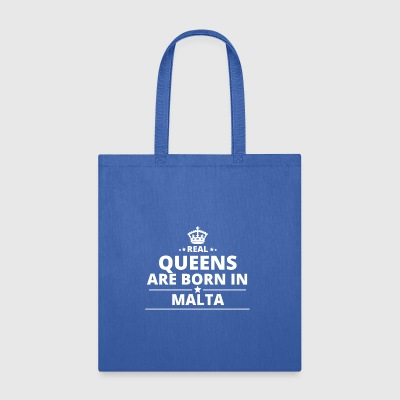 LOVE GESCHENK queens born in MALTA - Tote Bag