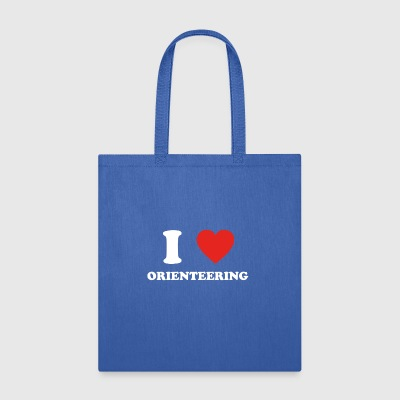 hobby gift birthday i love ORIENTEERING - Tote Bag