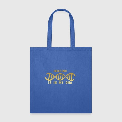 dns dna roots love calling golf sports golfer cadd - Tote Bag
