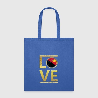 roots love home geschenk queen Papua Neuguinea - Tote Bag