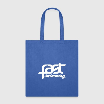 FAST SWIMMING WHITE - Tote Bag