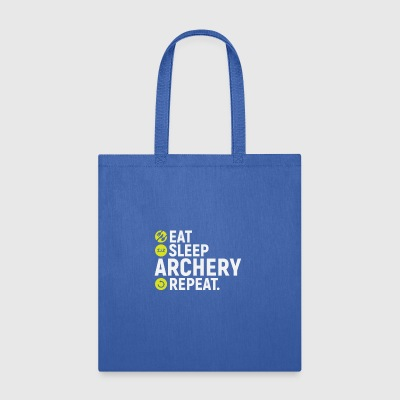 Eat, sleep, archery, repeat - gift - Tote Bag