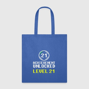 achievement unlocked level 21 - Tote Bag