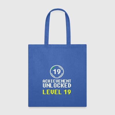 achievement unlocked level 19 - Tote Bag