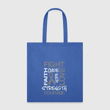 shirt for diabetes awareness day - fight and love - Tote Bag