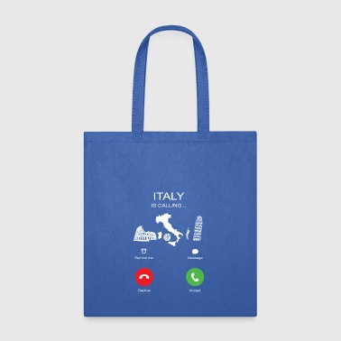 Italy Is Calling - Tote Bag