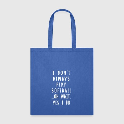 Softball - Softball Spieler - Tote Bag