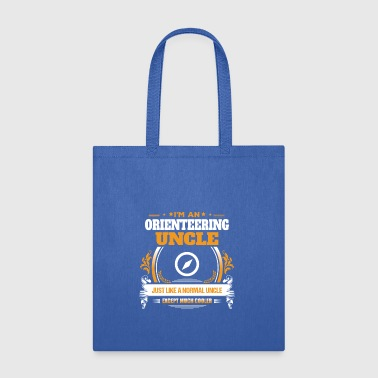 Orienteering Uncle Shirt Gift Idea - Tote Bag