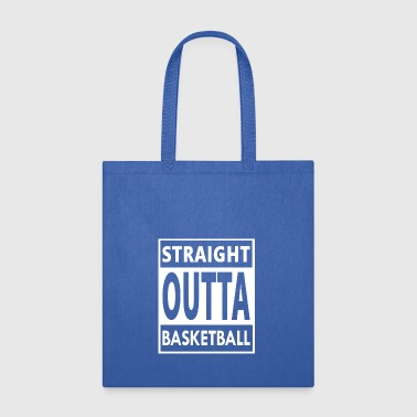 Basketball Player Cool/Funny Gift- Straight Outta - Tote Bag
