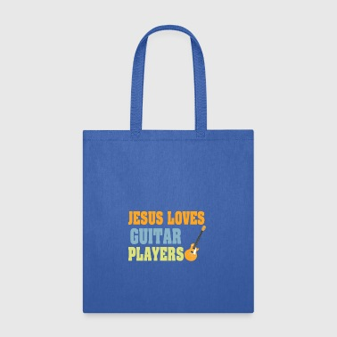 Shirt For Guitar Lover. Costume For Christian - Tote Bag